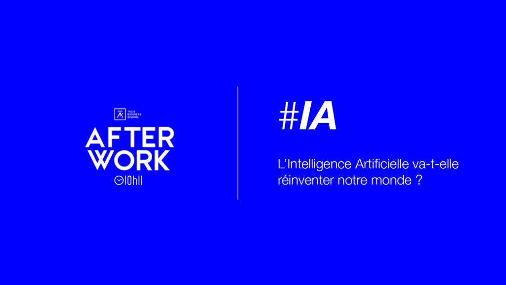 [AFTERWORK] Intelligence artificielle :  Des cas concrets pour comprendre nos futurs métiers 2
