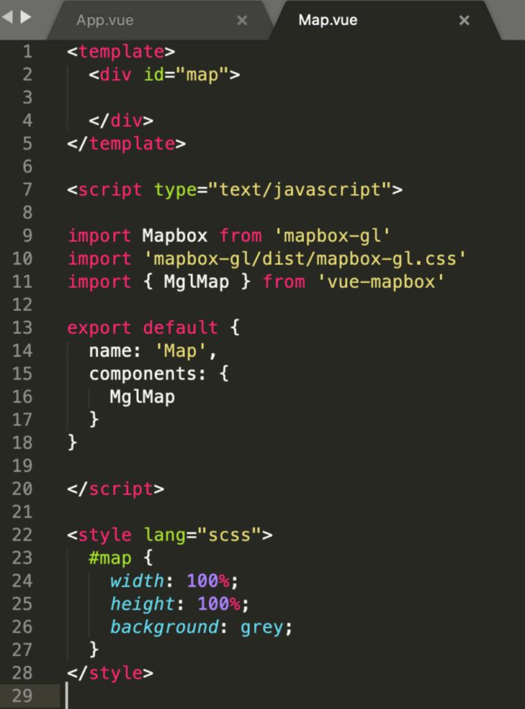 Intégrer une cartographie Mapbox à une application Vue 3